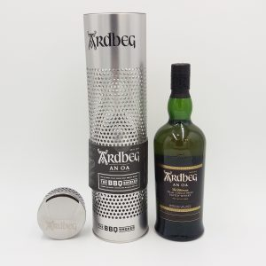 ARDBEG SMOKER THE BBQ AND A BOTTLE OF AN OA